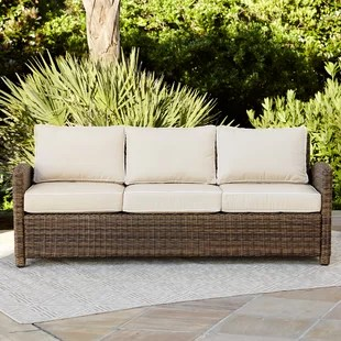 woven outdoor chair boho patchwork wicker patio furniture you ll love wayfair quickview
