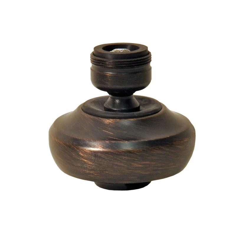 Premium Swivel Sprayrator Finish: Oil Rubbed Bronze
