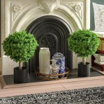 Topiary Faux Plants You Ll Love In 2021 Wayfair
