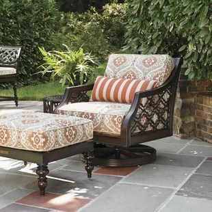outdoor swivel rocker chair massage cushion for patio rockers wayfair sands with