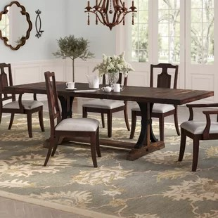 large dining table seats
