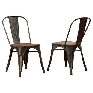 oak kitchen chairs antique grey cabinets dark wood wayfair quickview