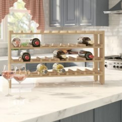 Kitchen Wine Rack Small Tables And Chairs Find Racks For Your Wayfair 40 Bottle Floor