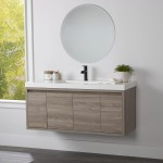 Wall Mounted Floating Bathroom Vanities Free Shipping Over 35 Wayfair