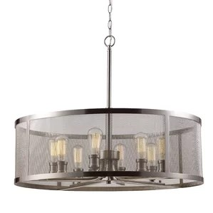 Clark 8 Light Drum Chandelier