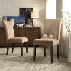 Parson Chairs Cushions For Outdoor Malta Chenille Chair Reviews Birch Lane
