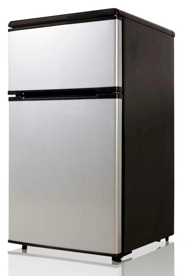 Equator Midea 3.1 Cu. Ft. Compact Refrigerator With Freezer &