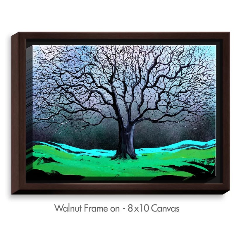 Heritage by Aja Ann Painting on Wrapped Framed Canvas Size: 12.75 H x 15.75 W x 1.75 D Frame Color: Walnut