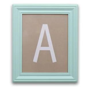 letter art wayfair