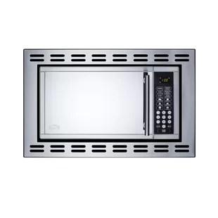 built in microwaves on sale now wayfair