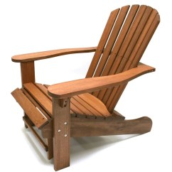 Adirondack Chair Wood Stackable Church Chairs Birch Lane Heritage Delatorre Solid With Ottoman