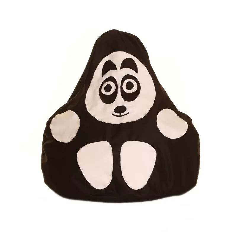 panda bean bag chair portable makeup full of beans wayfair co uk