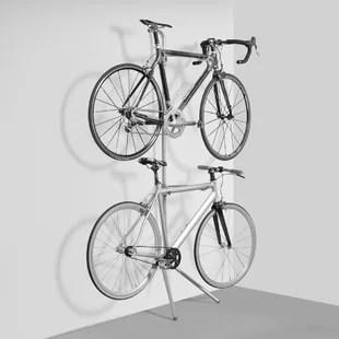 vertical free standing bike rack