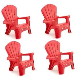 childrens adirondack chair plastic folding quad kids seating you ll love wayfair quickview