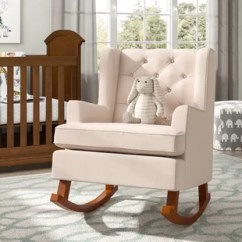 Rocking Chair For Nursery Plastic Adirondack Chairs Walmart Baby Wayfair Quickview