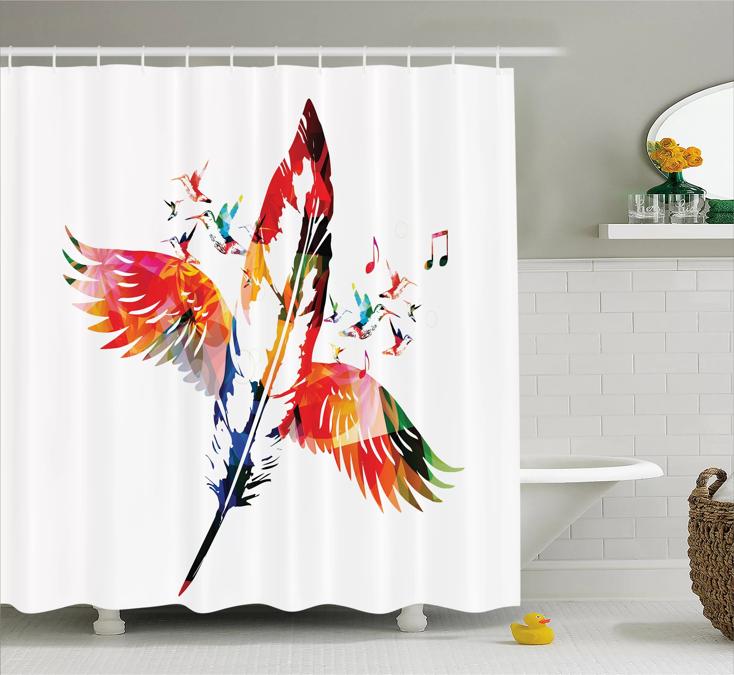 shower curtain 12 holes set 72x72 or