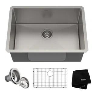 mobile home kitchen sink and bath stores wayfair standart pro 26 x 18 undermount