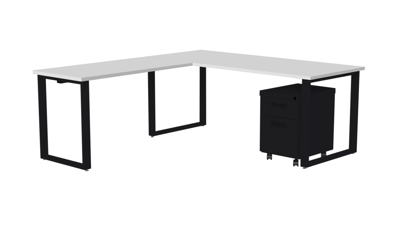 Upper Square Ardin Reversible L Shape Desk