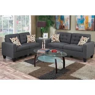 grey living room set decorating ideas walls sets you ll love wayfair