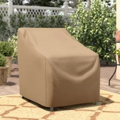 Chair Covers For Garden Furniture Upholstered Chairs Living Room Outdoor Table And Wayfair Basics Patio Cover