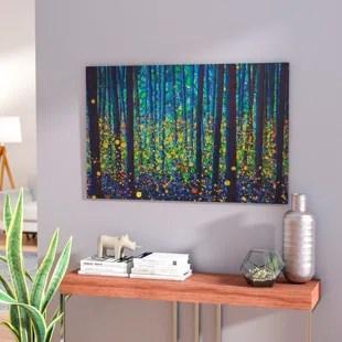 firefly wall art wayfair