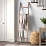 Union Rustic 6 7 Ft Blanket Ladder Reviews Wayfair