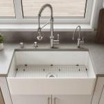 Alfi Brand Fireclay 36 L X 10 W Farmhouse Apron Kitchen Sink Wayfair