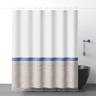 modern 100 cotton shower curtains