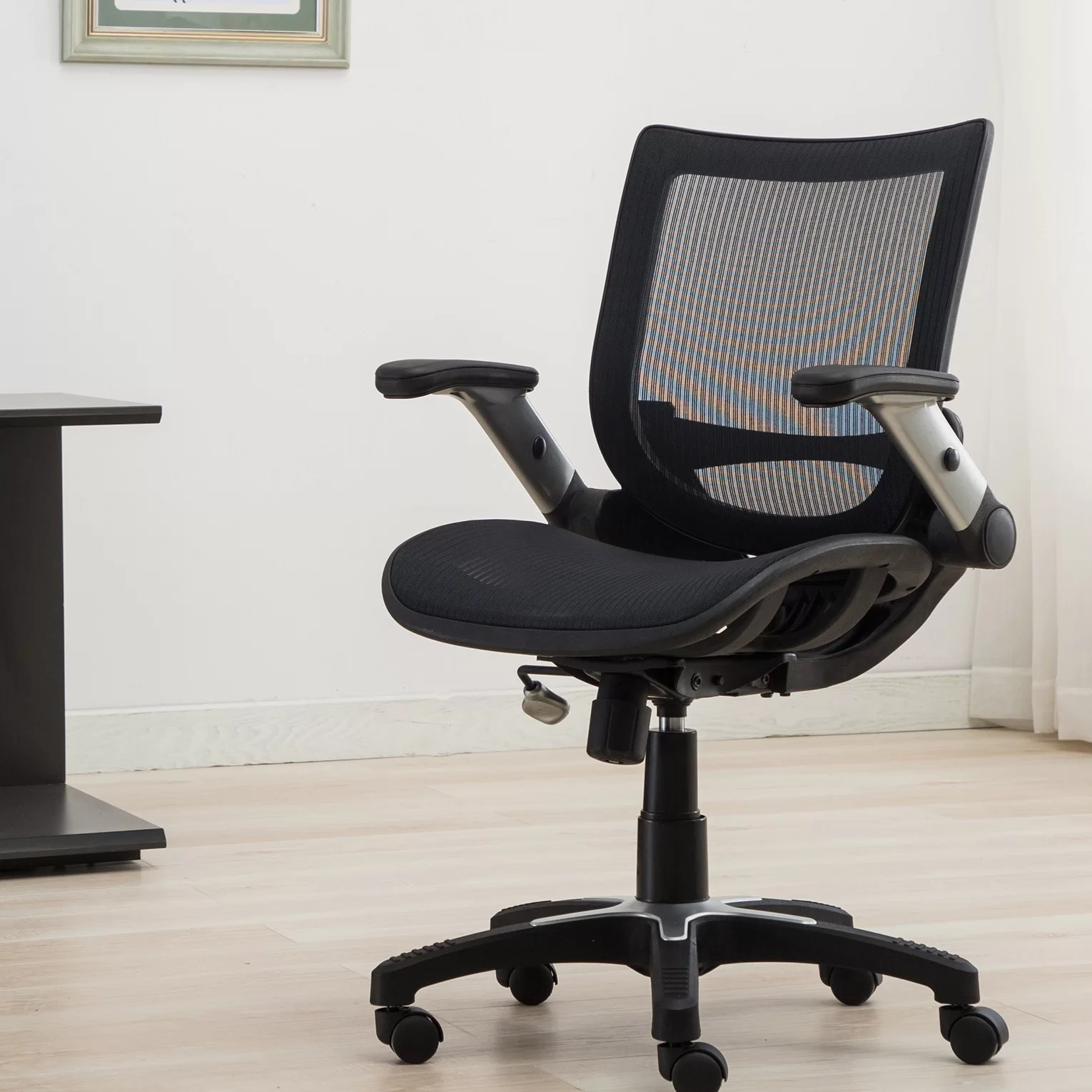 How To Adjust Office Chair Entrada Mid Back Ergonomic Mesh Task Chair