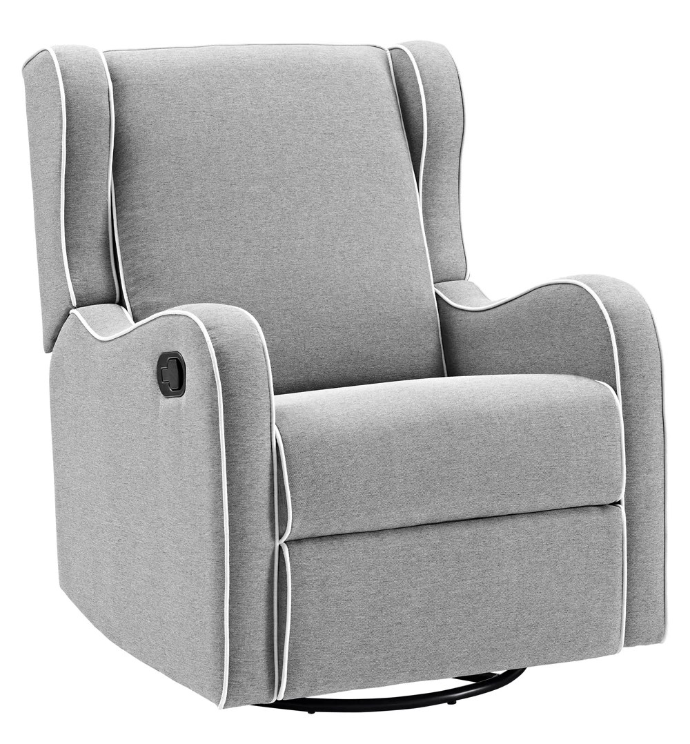 Gliding Chair Rowe Upholstered Manual Reclining Glider Recliner