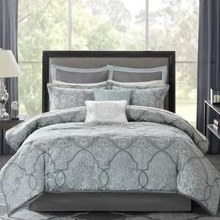 shonta damask 12 piece comforter set
