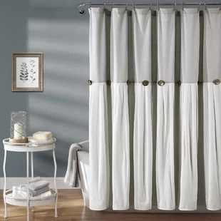 gray silver shower curtains shower