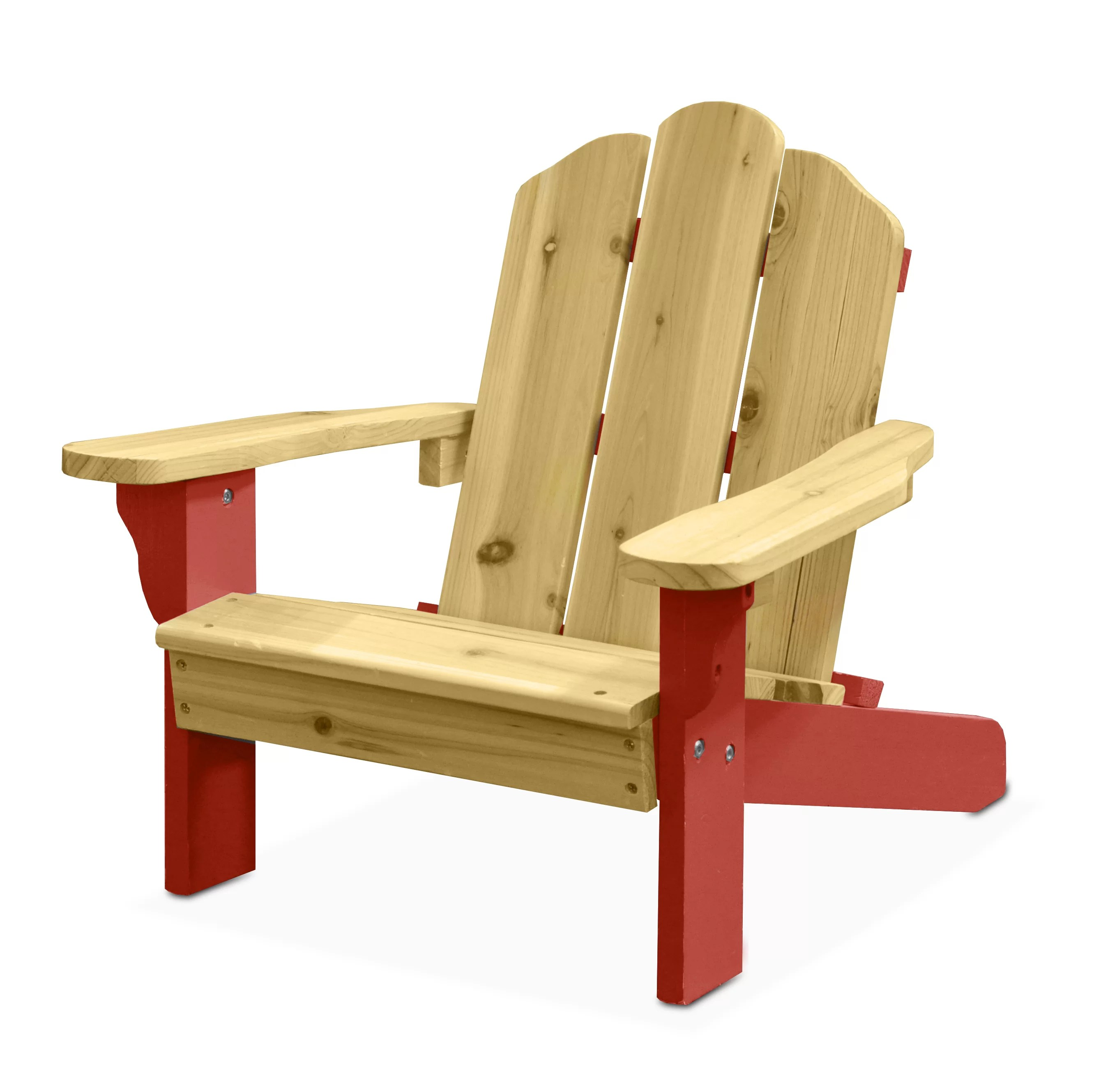 Plastic Kids Chairs Garett Kids Plastic Adirondack Chair