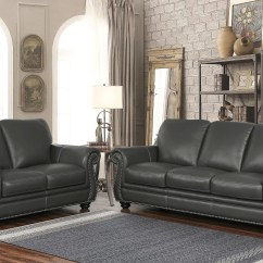 Grey Leather Living Room Set What Color Should I Paint My With Brown Furniture Darby Home Co Fairdale 2 Piece Wayfair Ca