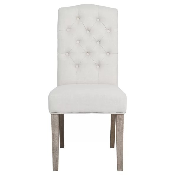 high back tufted chair throne chairs ophelia co zechariah french upholstered dining wayfair