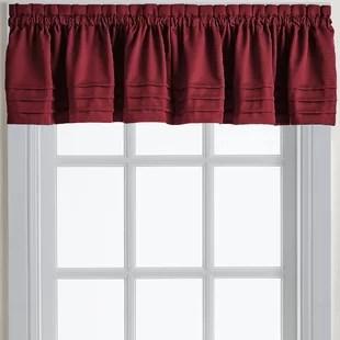 kitchen window valance inventory app valances for small windows wayfair caines 42