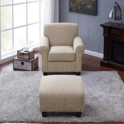 Living Room Chair And Ottoman Kidkraft Farmhouse Table Set Natural Accent Chairs Birch Lane Quickview