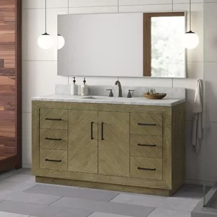 modern 6 drawer bathroom vanities