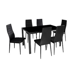 modern tables and chairs simply elegant chair covers linens contemporary dining room sets allmodern quickview