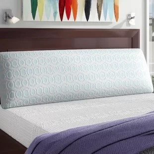 big and soft over filled extra long medium memory foam body pillow