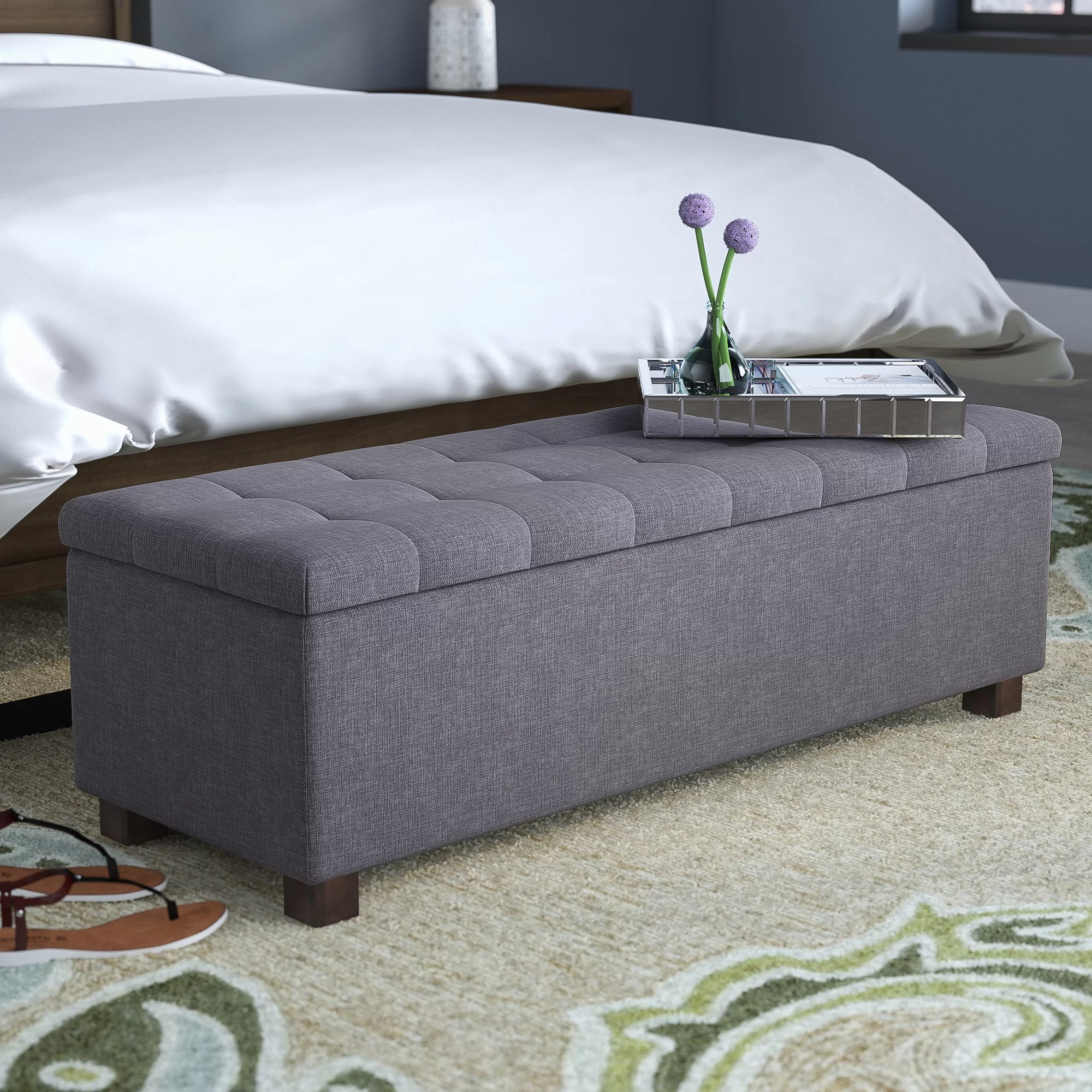 upholstered benches free shipping