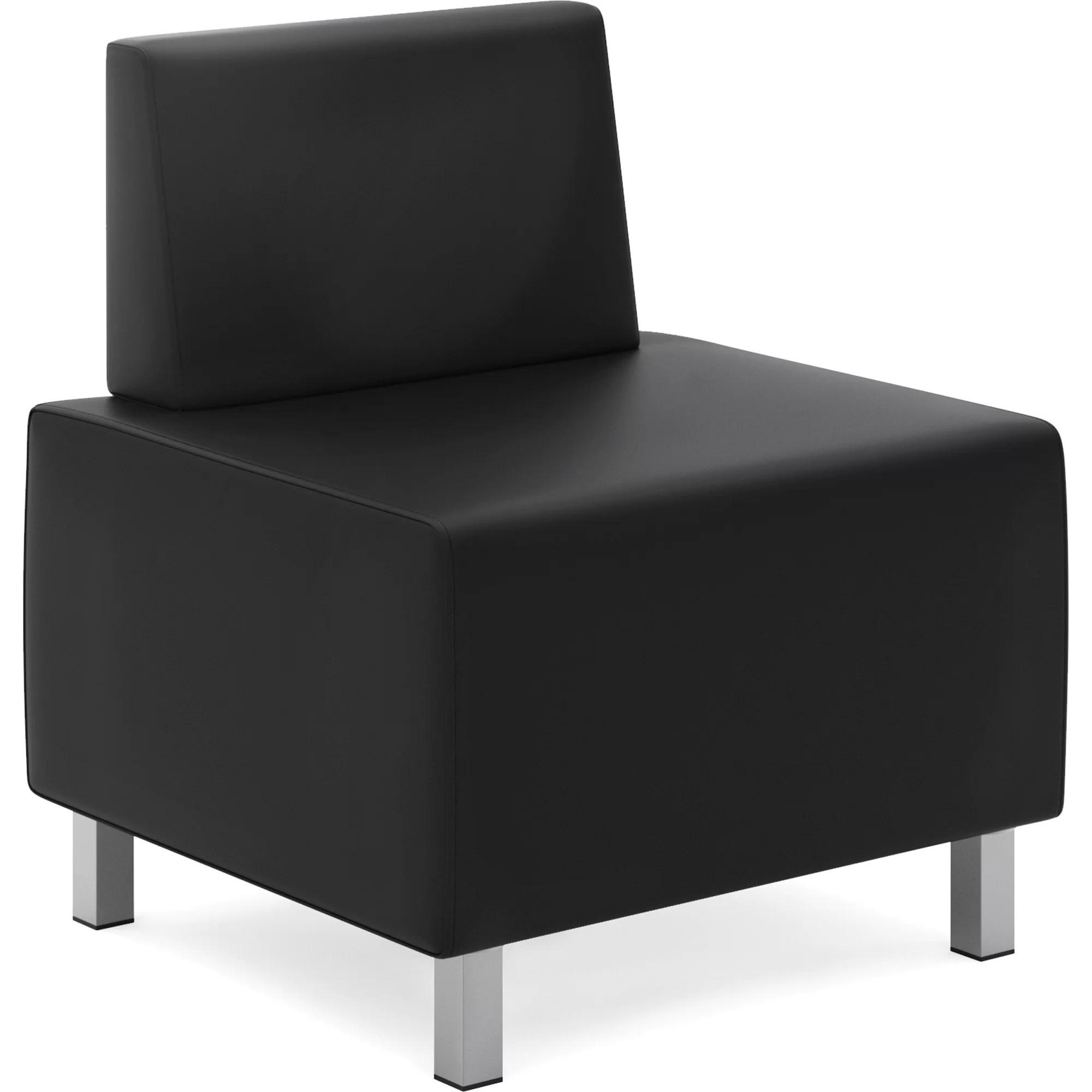 white leather slipper chair chicago bears folding basyx modular wayfair