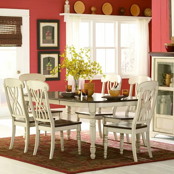 dining table in living room pictures decorating with light gray walls kitchen furniture you ll love wayfair