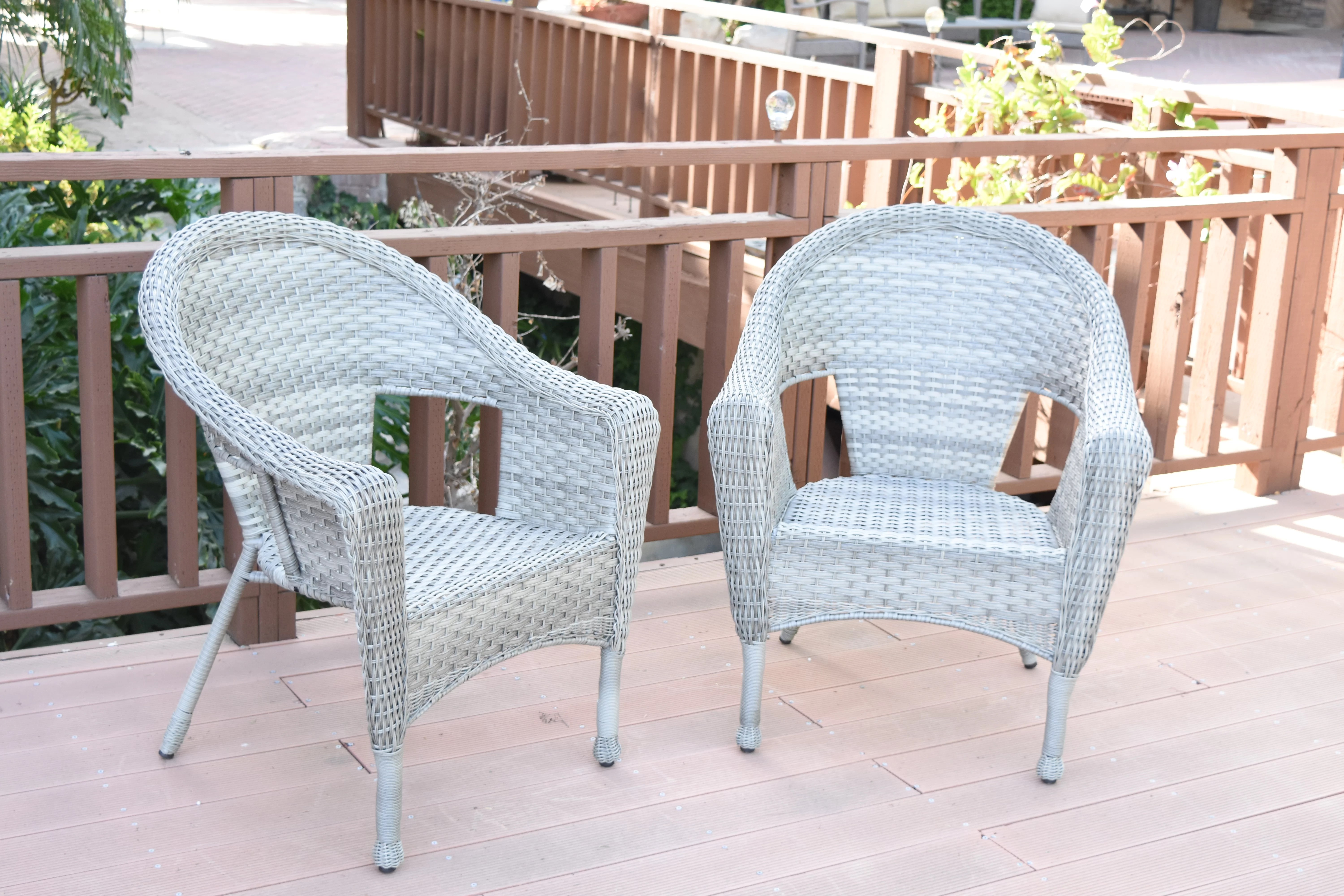 Wicker Patio Chair Kentwood Resin Wicker Patio Chair Without Cushion
