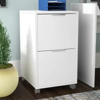 Drawer White Wood Filing Cabinets You'll Love in 2019