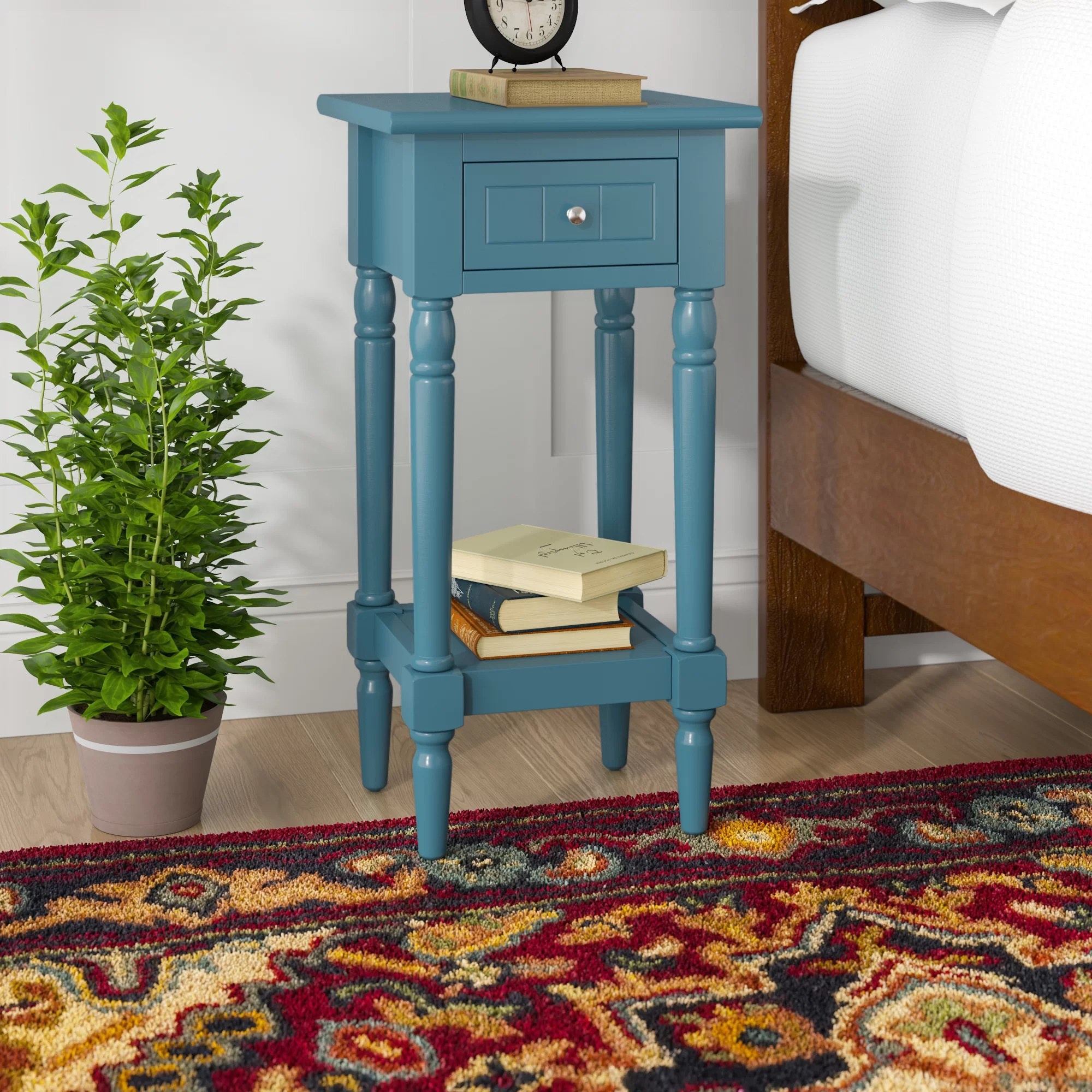 Blue End Side Tables You Ll Love In 2020 Wayfair