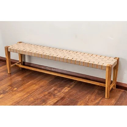 luxury backless outdoor benches perigold