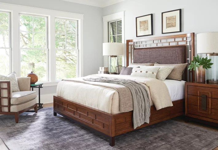 bedroom chair with skirt high for island kitchen tommy bahama home wayfair pacific rim fusion