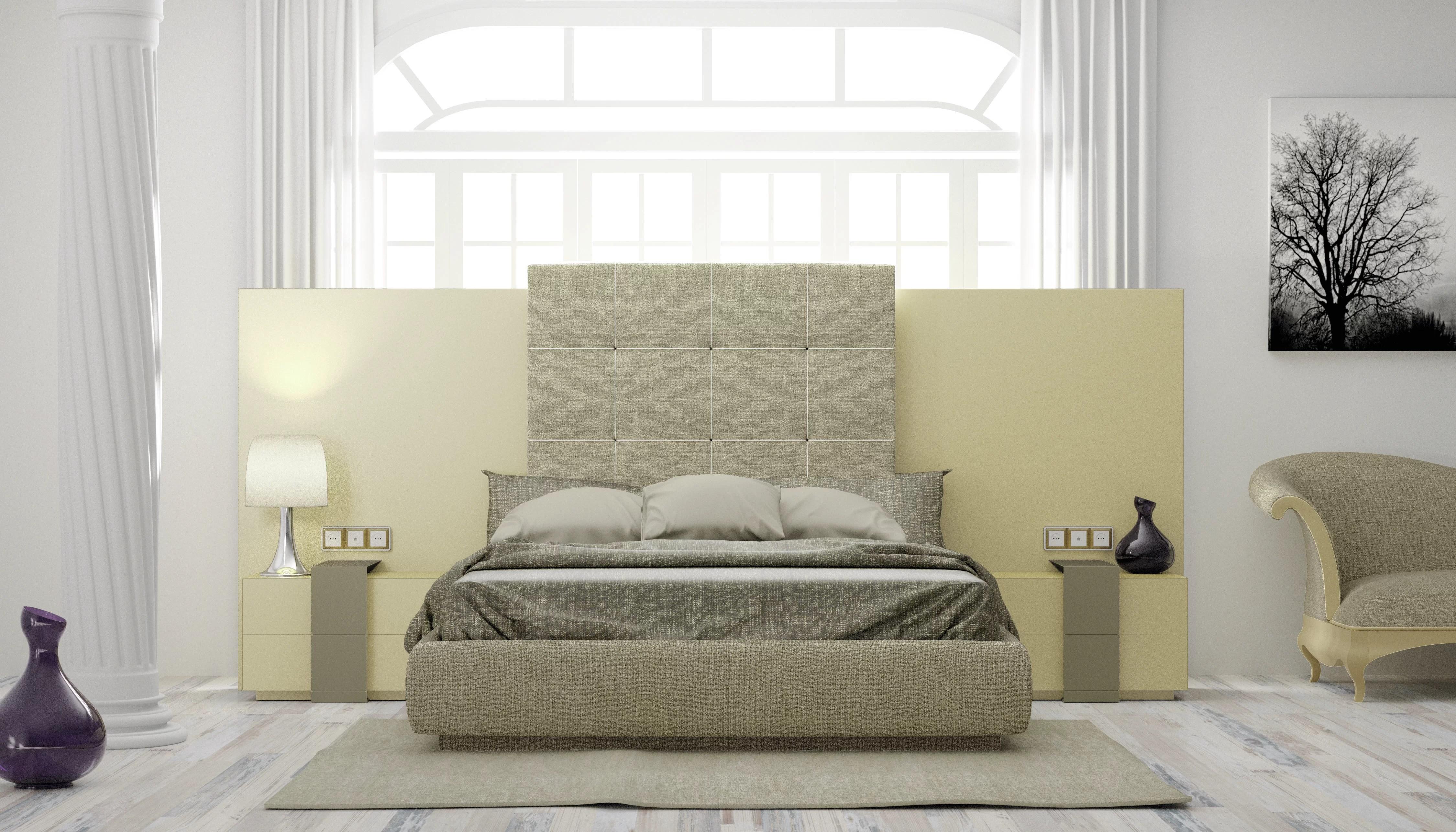 Orren Ellis Matheson King Upholstered Platform Bed