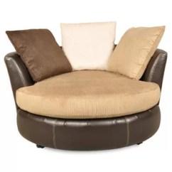 Brown Swivel Chair Recliner Covers Dunelm Ashley Oversized Chairs Wayfair Vogelsang Barrel